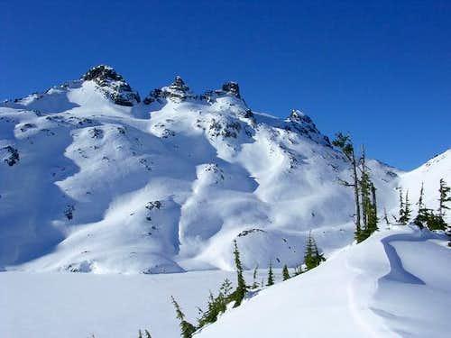 Gothic Peak 12-11-05