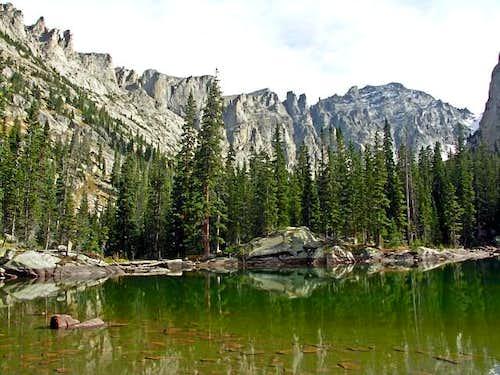 Shoshoni Peak from Mirror Lake