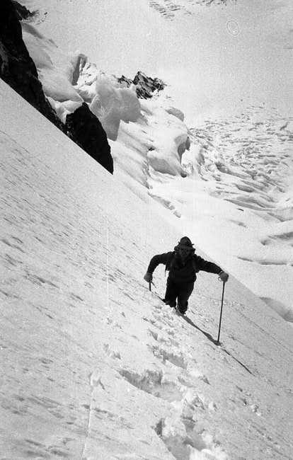 Fritz Wintersteller ascending...