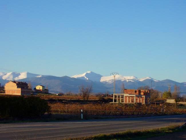 The massif of San Lorenzo...