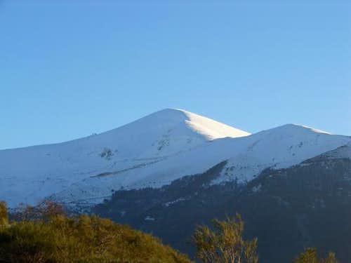 San Lorenzo, the highest...