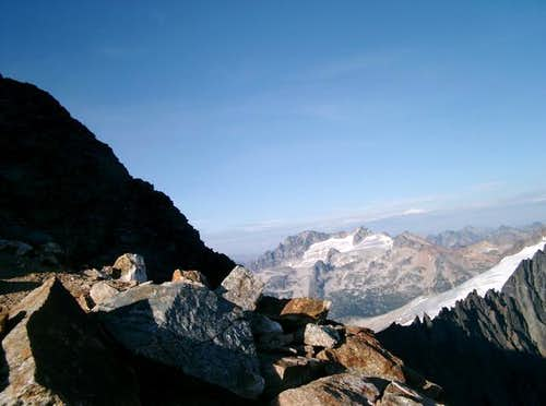 Mt. Logan from the upper...