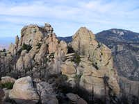 Summit of Cathedral Rock; the...