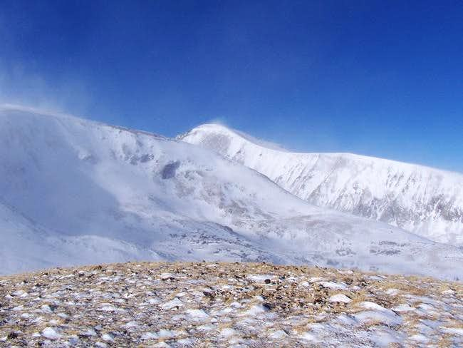 Quandary Peak Winter Photos