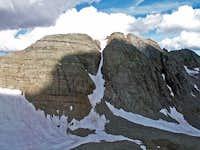 Conundrum Peak from SE Ridge...