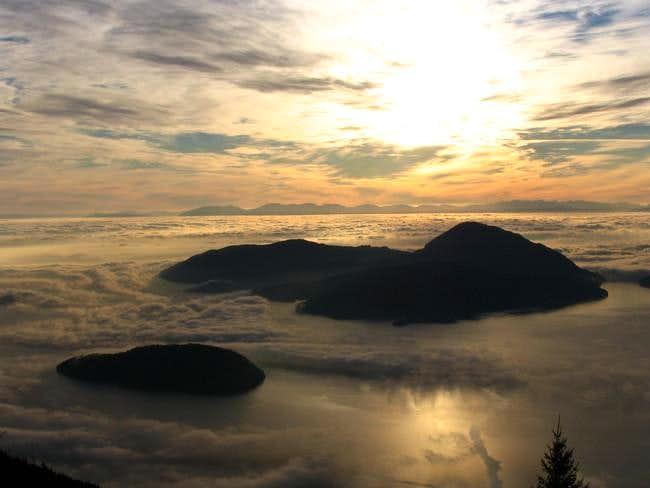 View of Bowen island ( large...