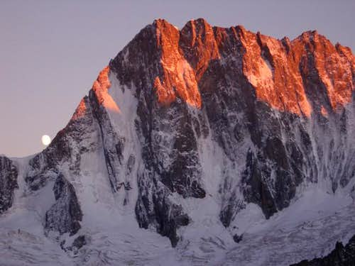 Grandes Jorasses ' s North...