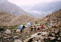 Rupal Peak s base camp is...
