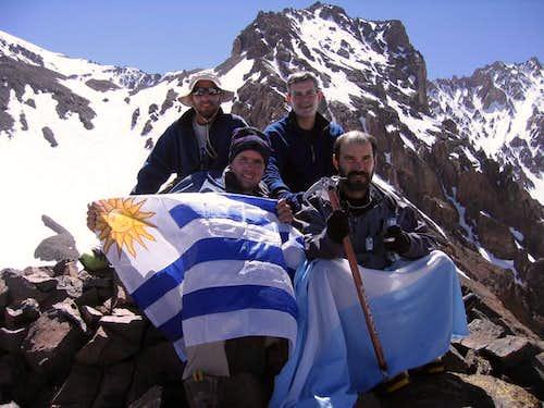 Pico Parra summit,...