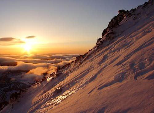 Sunrise from Mount Rainier's...