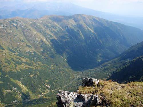 Kamenistá dolina Valley from...