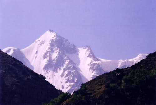 Rupal Peak as viewed from...