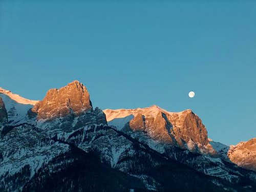 East Rundle, Canmore, AB,...