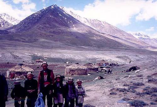 Yurts on the Wakhan