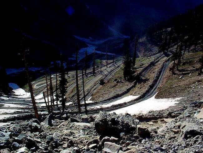 Crossing the Lowari Pass
