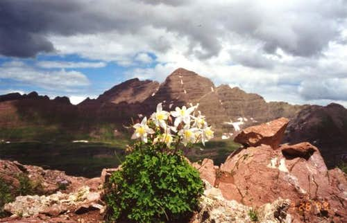 Photo of the Maroon Bells...