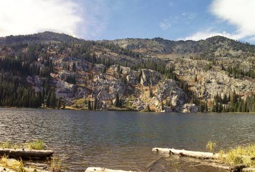 This is Rainbow Lake at the...