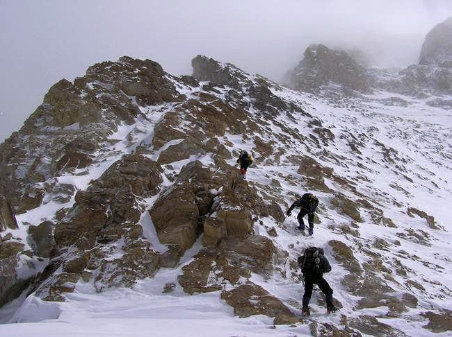 Bad weather on summit day