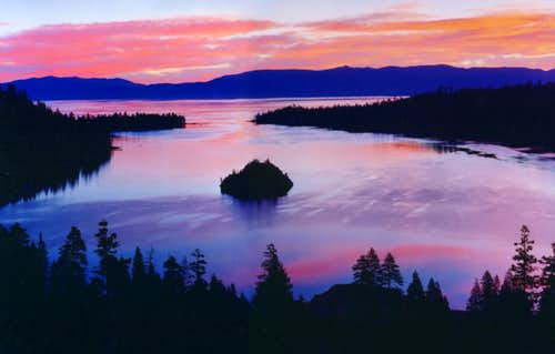 Emerald Bay and Lake Tahoe...