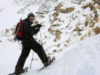 Lee on St. Mary' s Glacier...