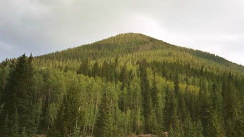 Doyle Peak seen from the...