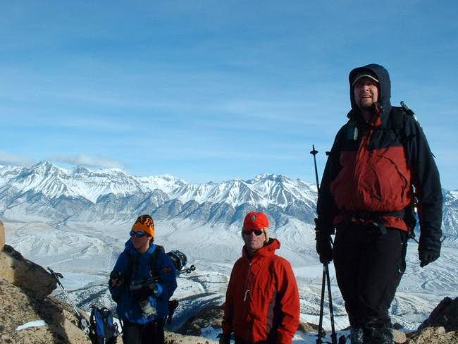 Summit of Mackay peak with...