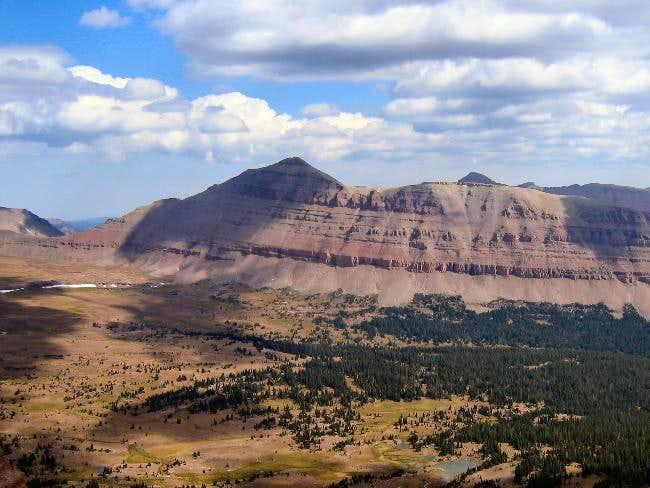 View of Mount Lovenia taken...