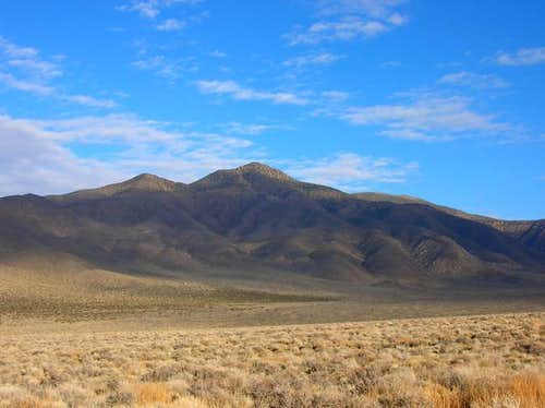 Wildrose Peak as seen from a...
