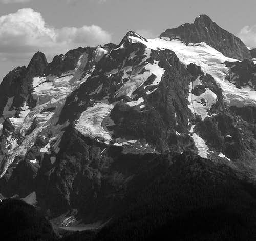 North Face of Shuksan...