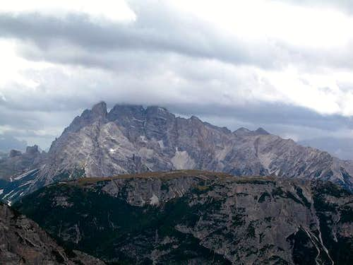 Cristallo as seen from the...