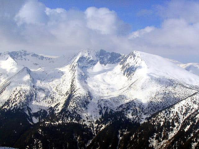 Impressive peaks of Rila...