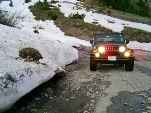 4x4 needed at 9,000ft and...