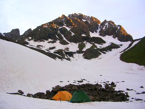 base camp. june 2005.