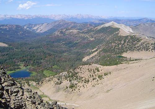 View of Blackman Peak from...