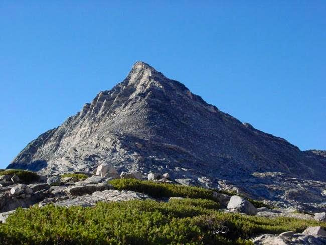 Pyramid Peak from the north....