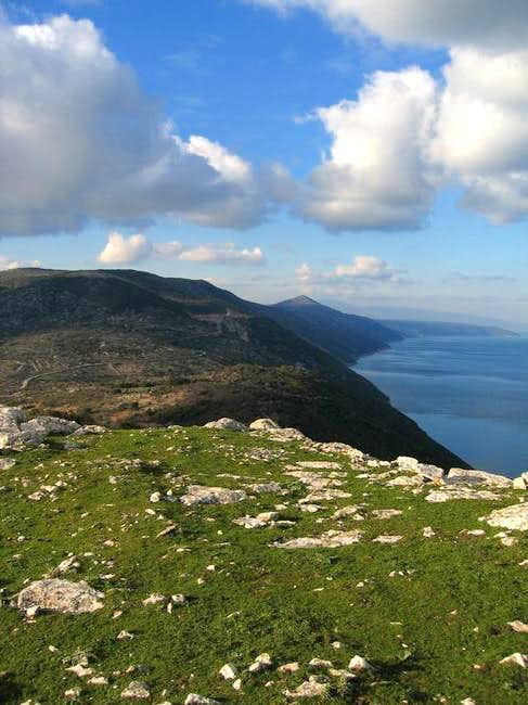 View from Sv. Bartolomej....
