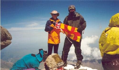 Me and my Dad on the Summit
