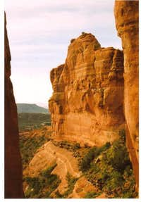 View on Cathedral Rock hike.