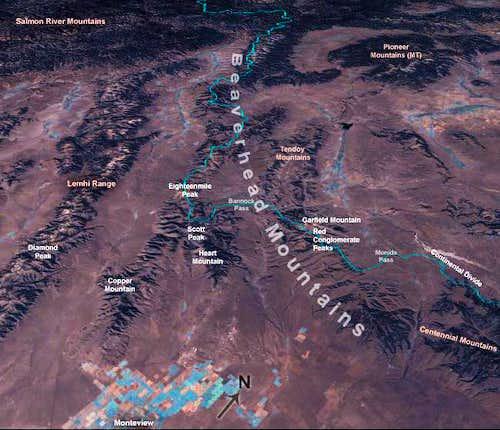 Nasa Worldwind image of the...
