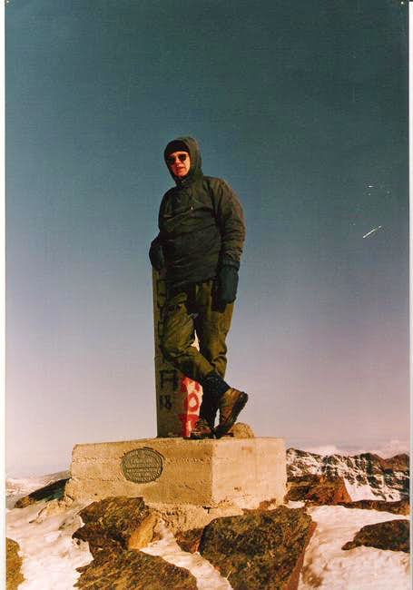 Pico de Veleta, Winter 1992.....