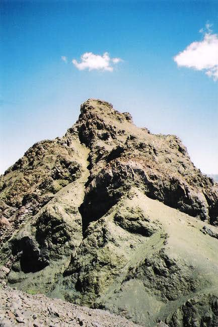 The summit of Molo from the...