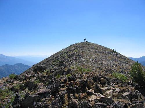 The summit of Peak 10337. A...