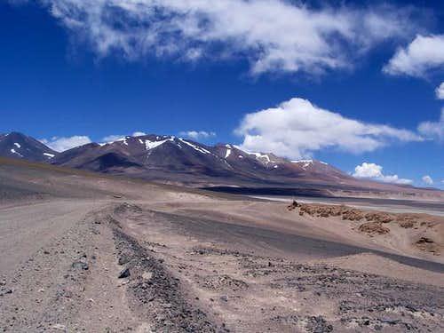 Approaching Cerros de...