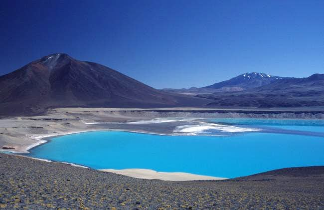 Looking to Laguna Verde from...