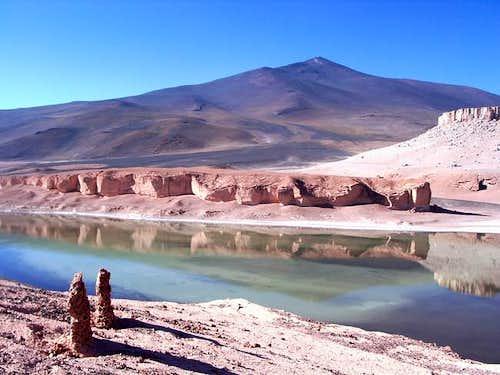 Cerro Mulas Muertas with...