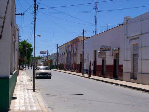 Siesta in San José de Jáchal