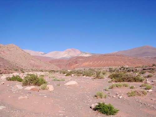 Approaching the Refugio del...