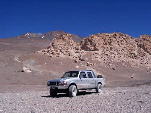At the Cerro Veladero NE Base...