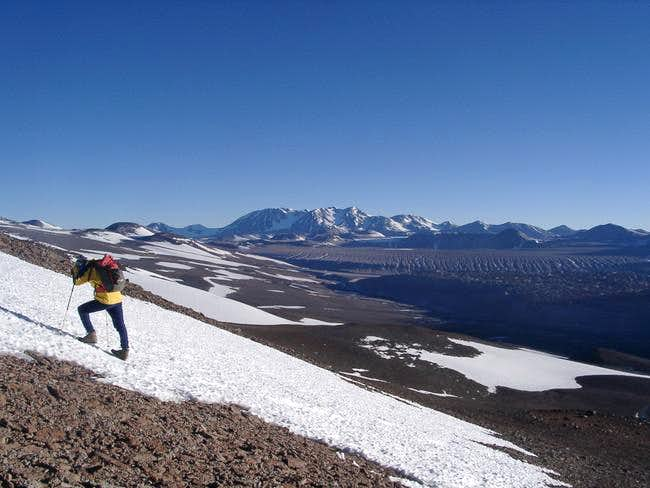 Climbing Cerro Veladero NE –...
