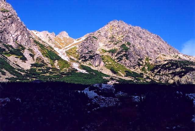 Under Solisko ridge in...